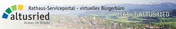Rathaus-Service-Portal Altusried