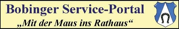 Rathaus Service Portal Bobingen