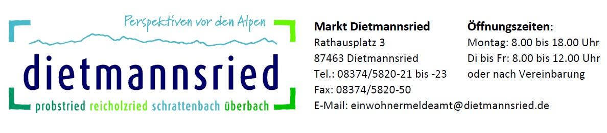 Rathaus-Service-Portal Dietmannsried