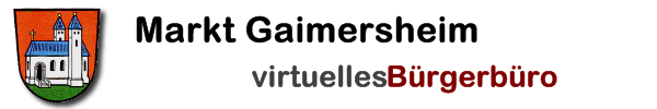 Rathaus-Service-Portal Gaimersheim