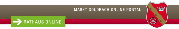 Rathaus-Service-Portal Goldbach