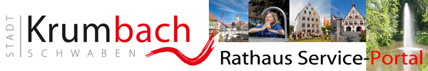 Rathaus Service-Portal Stadt Krumbach