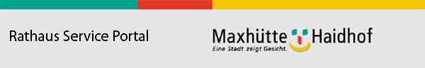Rathaus Service Portal Maxhütte-Haidhof