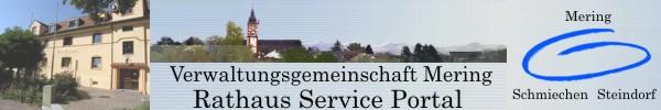 Rathaus Serviceportal Mering