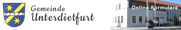 Gemeinde Unterdietfurt